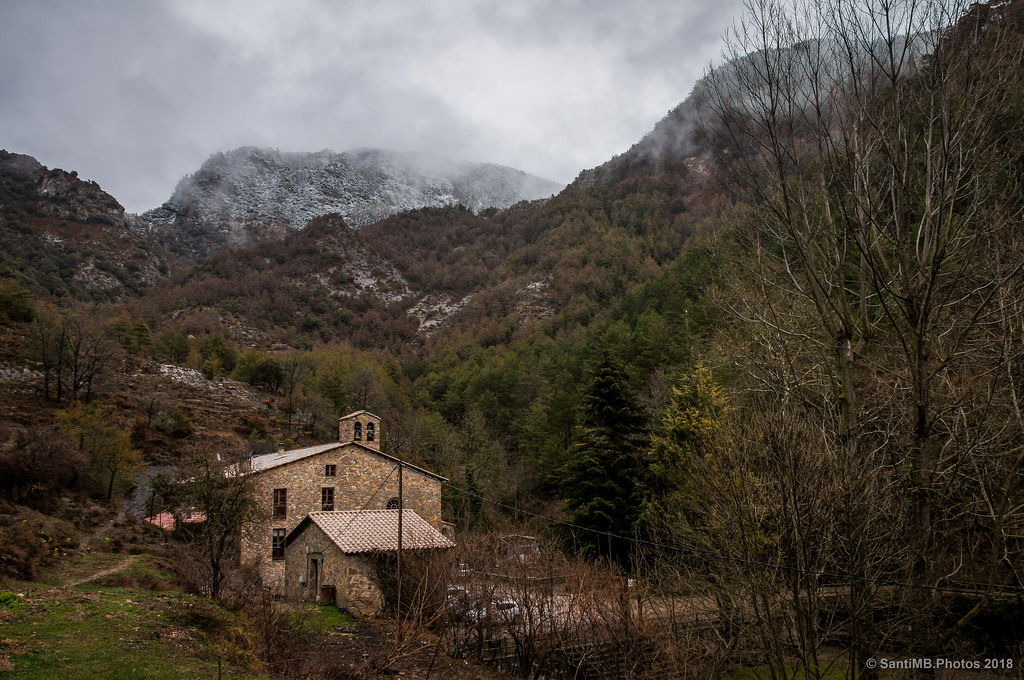 Entre las montañas