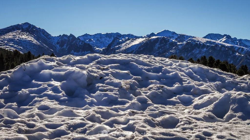 Montañas de nieve