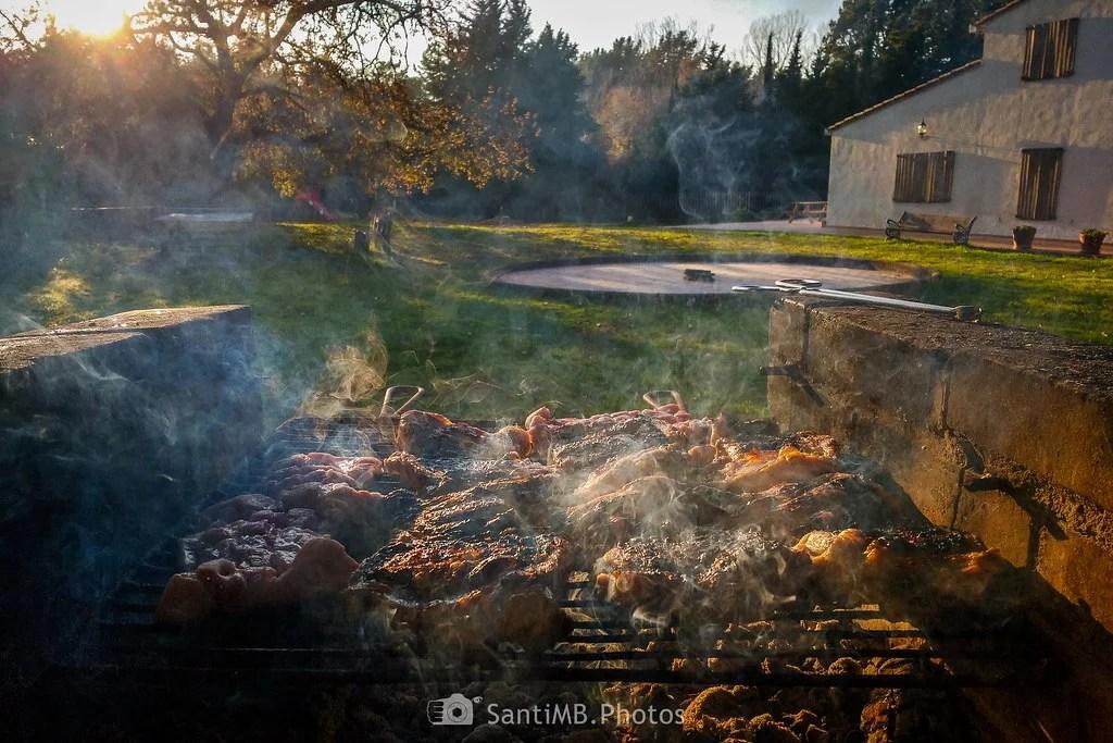 El aroma de la carne asada