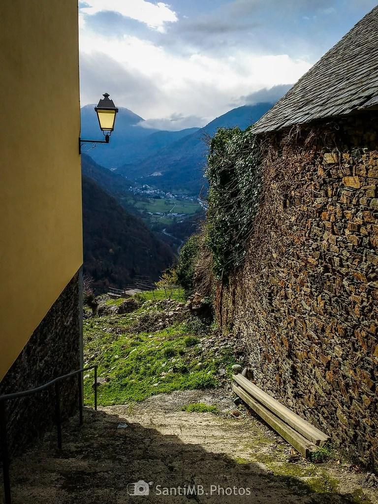 La calle que da al valle