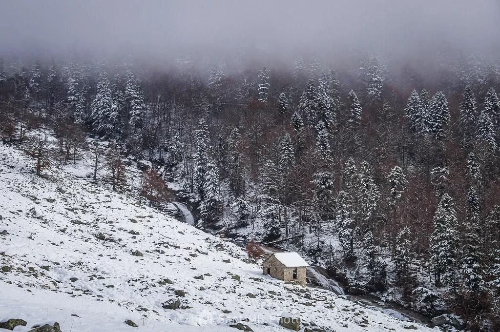 Aquella cabaña junto al río