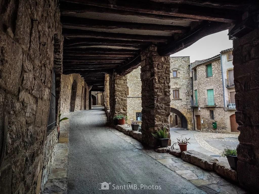 Calle cubierta