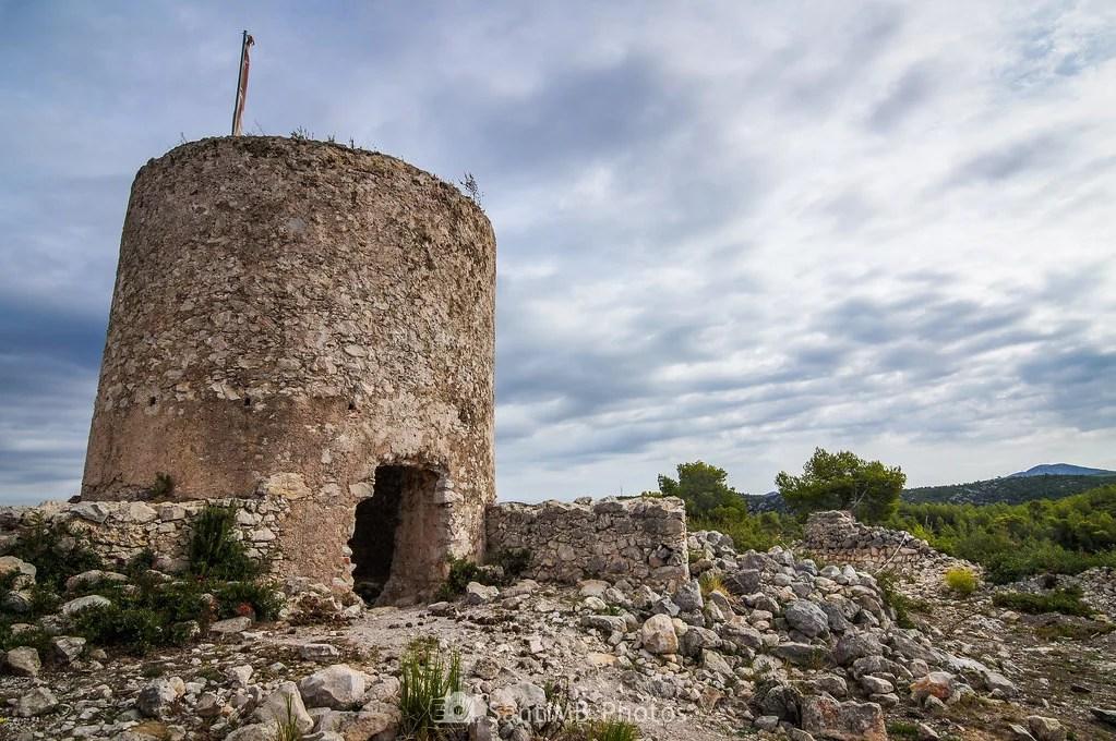 Ruinas en el Puig Molí