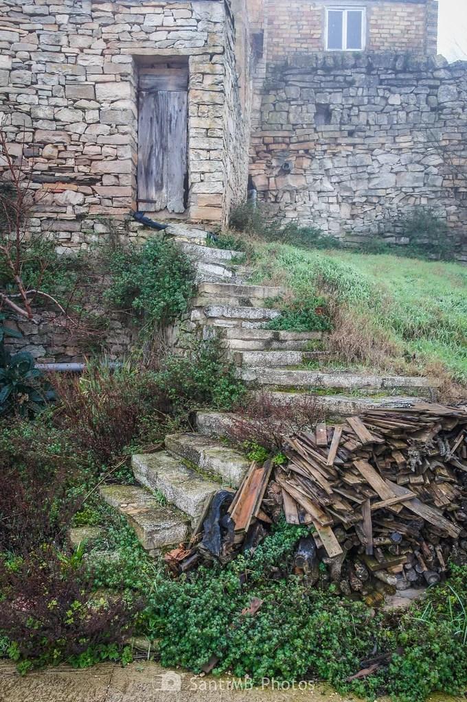 La escalinata