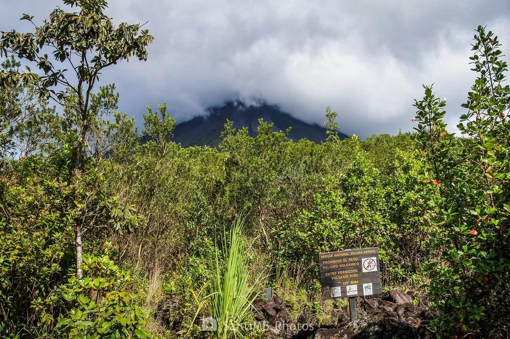 Peligro volcánico