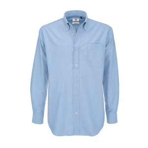 B&C Oxford LSL men
