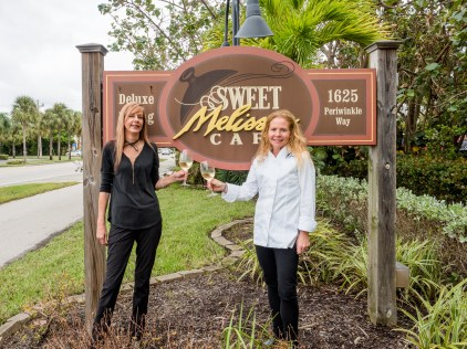 Sweet Melissa's GM Karen Schaeffer and Chef Melissa Talmage