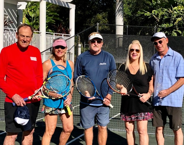 SCCF Tennis Tournament Invites Doubles Play on Clay