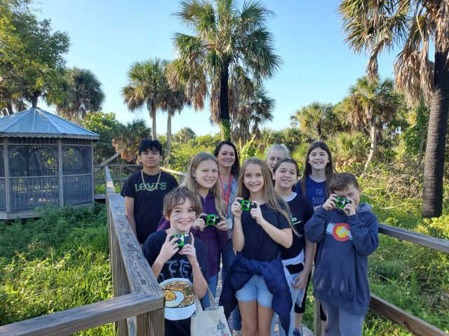 SCCF Brush of Excellence Reception Features Sanibel Students' Photos