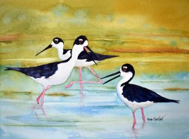 Stilted Conversation by Renee Chastant