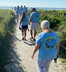 Bank 2020 Coastal Cleanup Team Off to Work