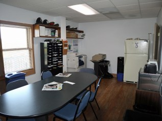 The Sanibel Police Department conference room