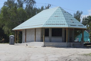 Sanibel Custard Shack is under construction. SC photo by Chuck Larsen