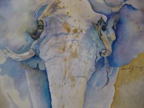 """King Jumbo, watercolor, 22x28"""""""