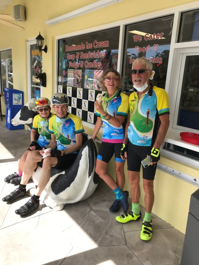 Sanibel Bike Club Travels From Lovers Key to Vanderbilt Beach