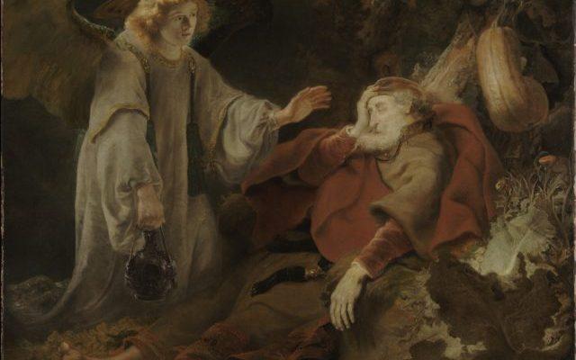 O anjo do Senhor acorda Elias