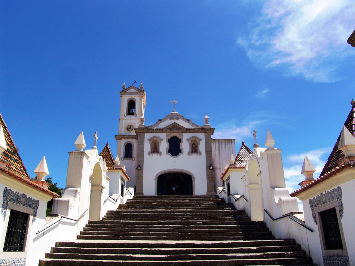 Escadaria do Santuário de Santo António dos Olivais, Coimbra