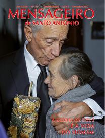 Capa do Mensageiro de Santo António novembro 2017