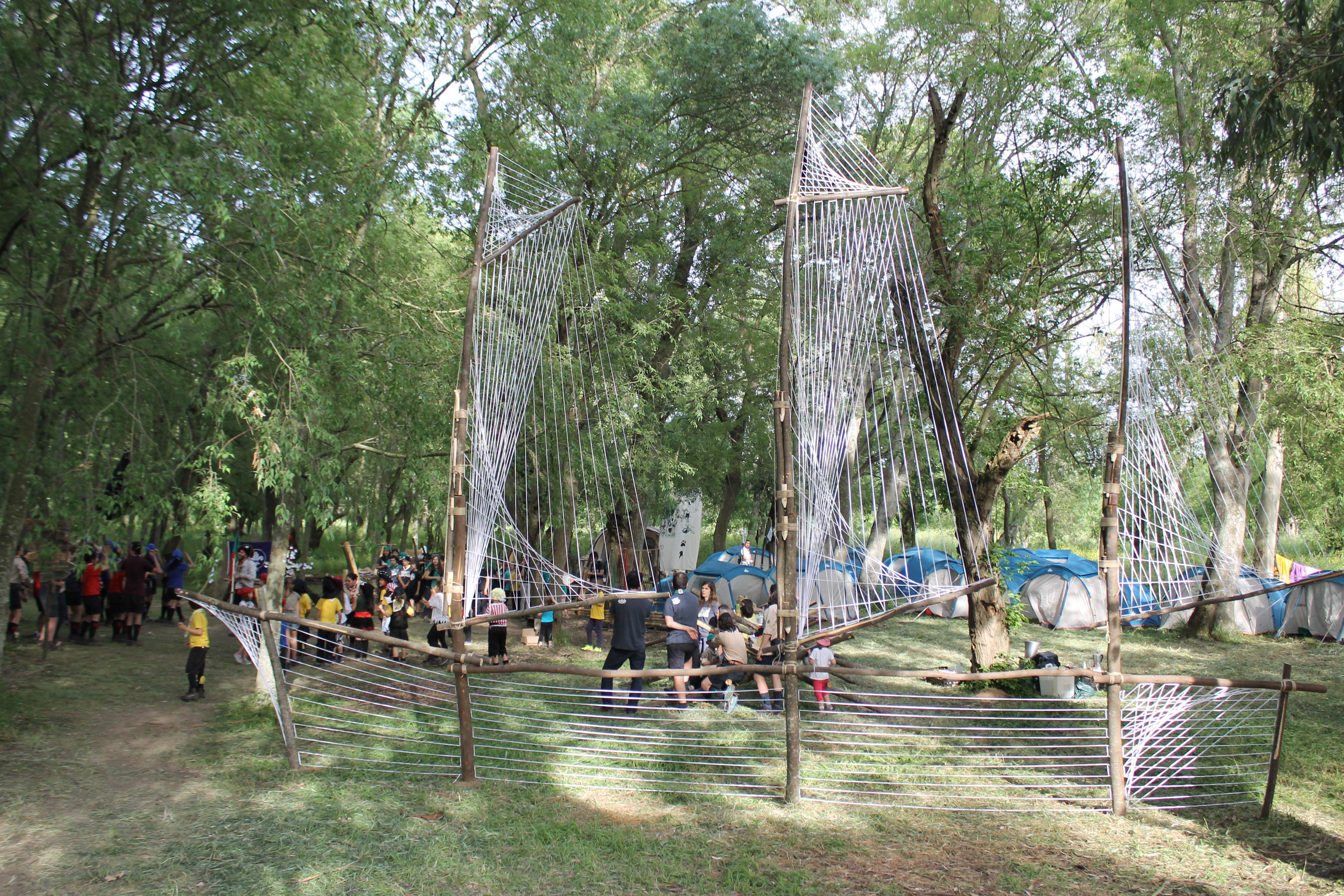 Acampamento da Valada - Escuteiros de Santo António dos Olivais - Agrupamento 109