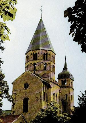 O que resta da Abadia de Cluny