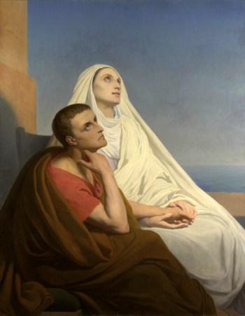 Ary Scheffer, Santo Agostinho e Santa Mónica