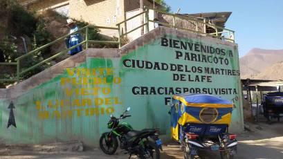 Pariocoto, Peru