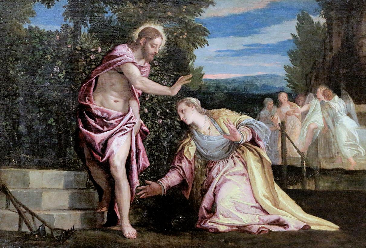 Noli me tangere, óleo sobre tela, Paolo Varonese, sec XVI, Museu de Grenoble