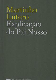 """Capa do livro """"Explicação do Pai Nosso"""", Martinho Lutero"""