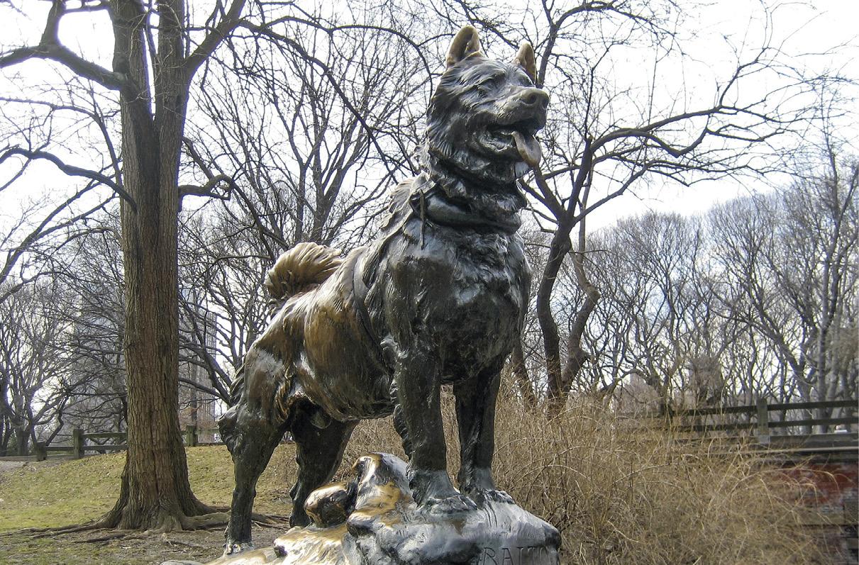 Monumento a Balto, Nova Iorque, Central Park