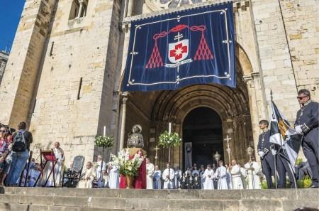 Sé Catedral de Lisboa, relíquia de Santo António. Foto CML.