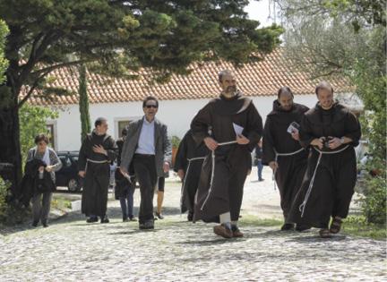 Comemorações dos 800 anos da presença franciscana em Portugal, Convento da Arrábida, 25 de abril de 2018