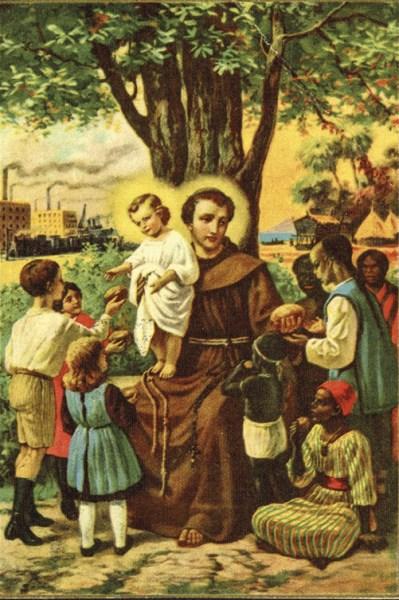 Postal ilustrado da editora União Missionária Franciscana, c. 1950. MA.ESP.DOC.0119