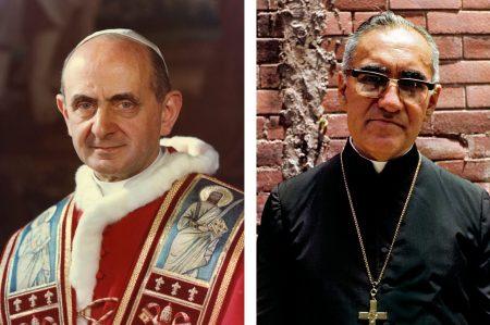 Paulo VI e Óscar Romero canonizados a 14 de outubro de 2018