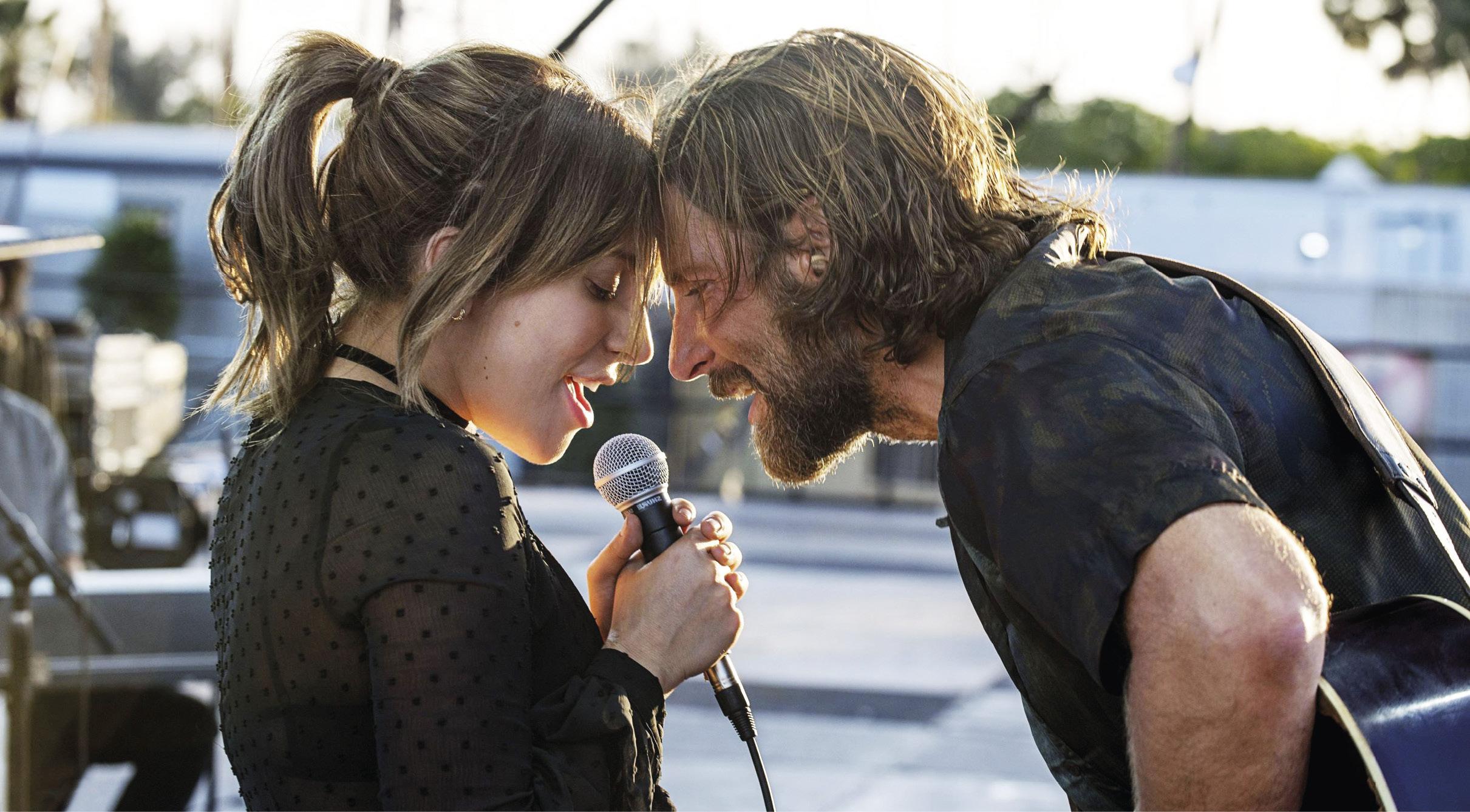 A Star Is Born (Assim nasce uma estrela), de Bradley Cooper, Drama, M/14, EUA, 2018