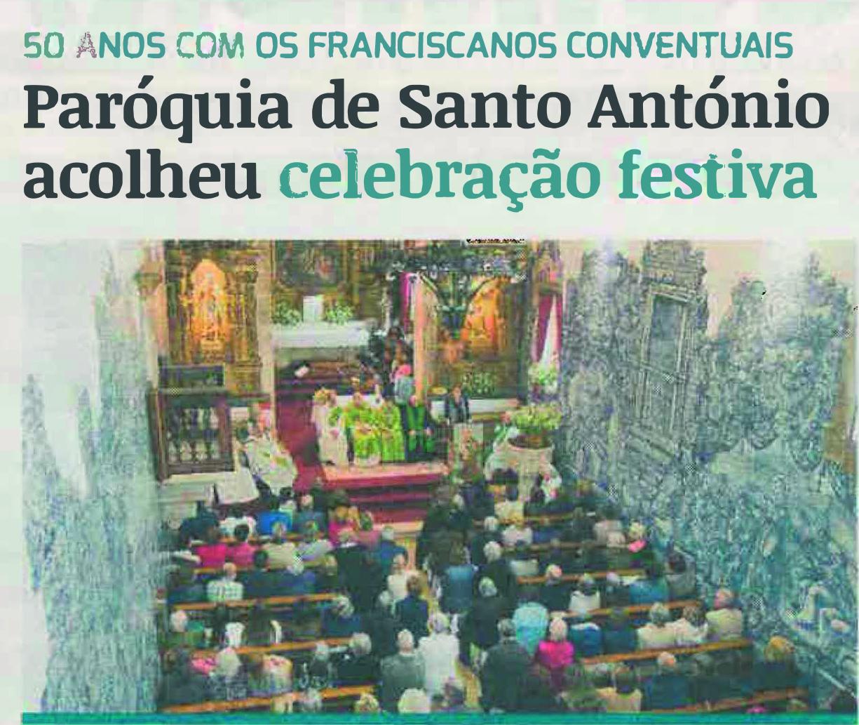 Correio de Coimbra: 50 anos com os franciscanos conventuais