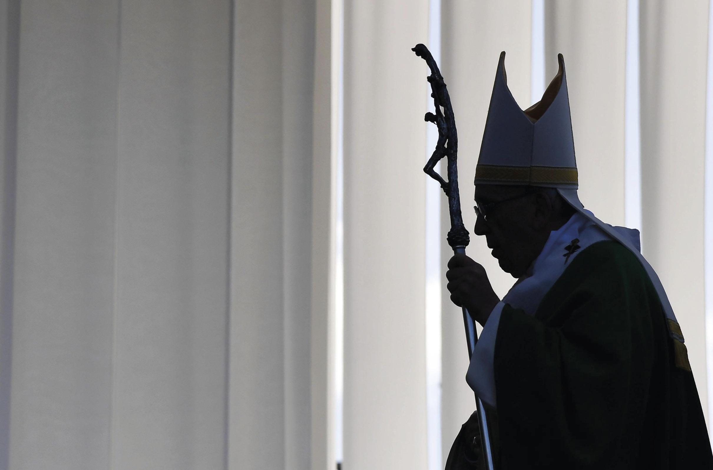 Papa Francisco na Missa no Parque de Santakos, Kaunas, Lituânia, 23 de setembro de 2018. EPA / ALESSANDRO DI MEO