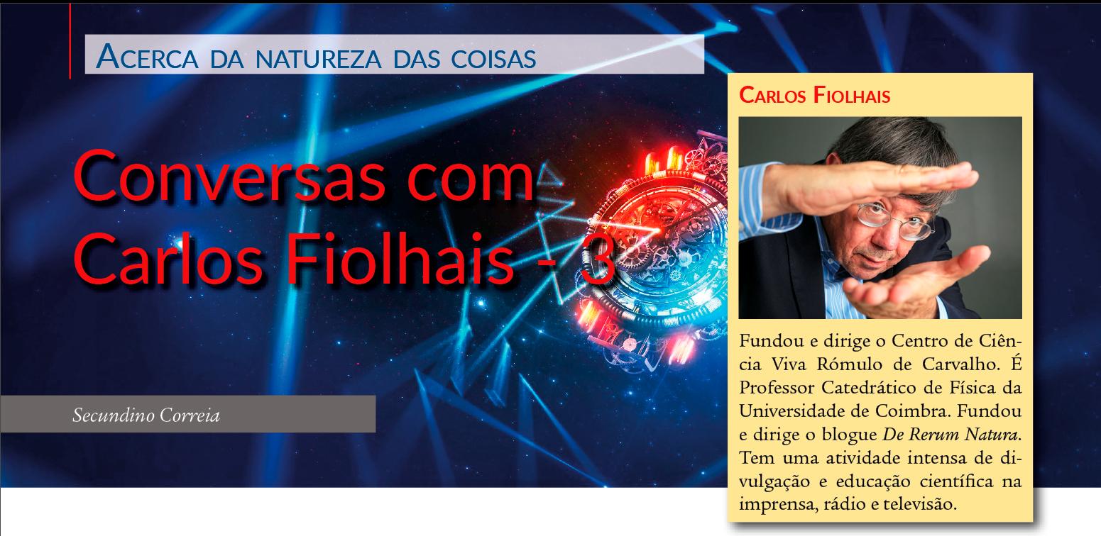 Conversas com Carlos Fiolhais - Os triângulos do Big Bang