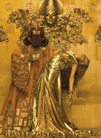 Rei Midas: tudo o que tocava transformava-se em ouro.