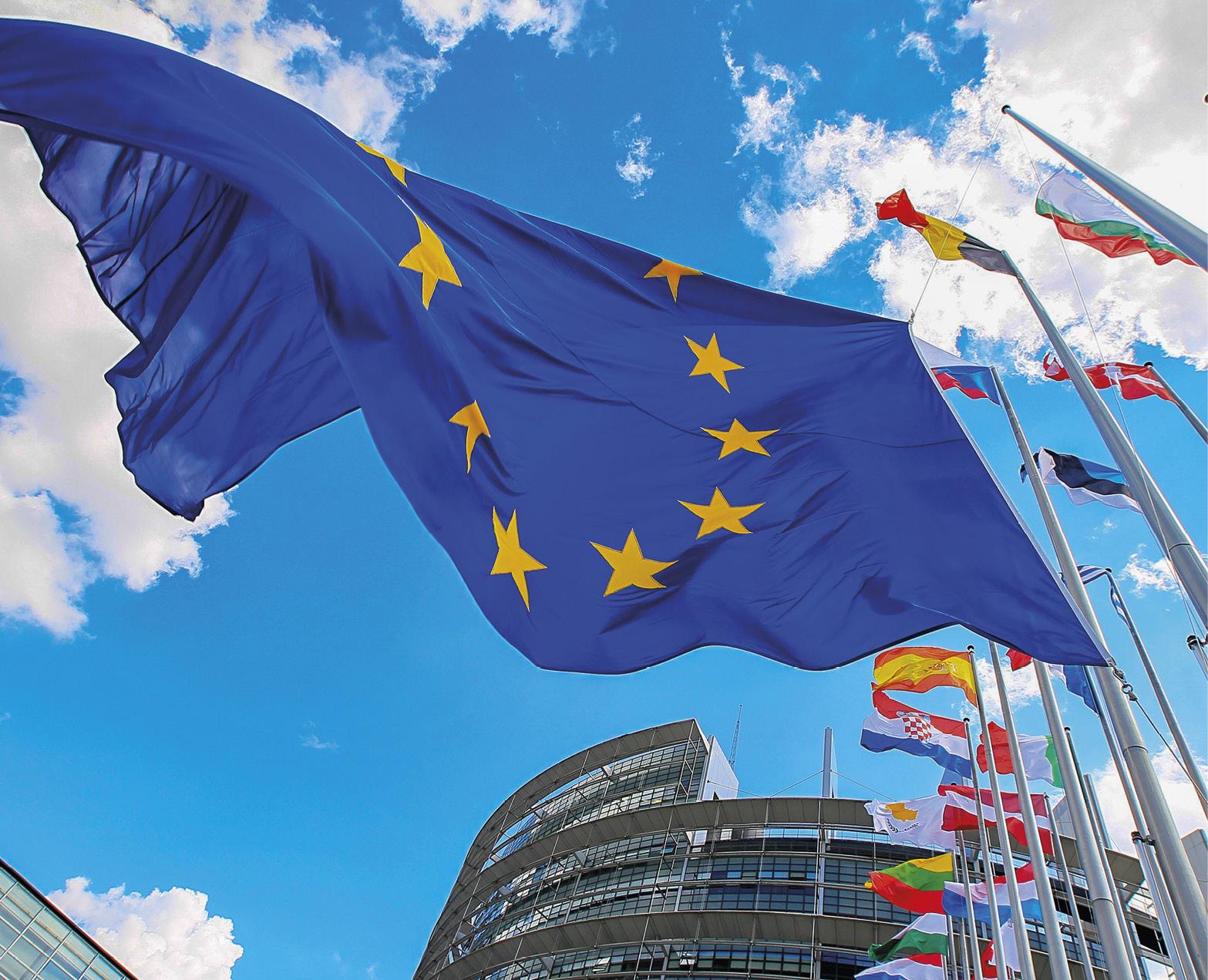 Sede do Parlamento Europeu.