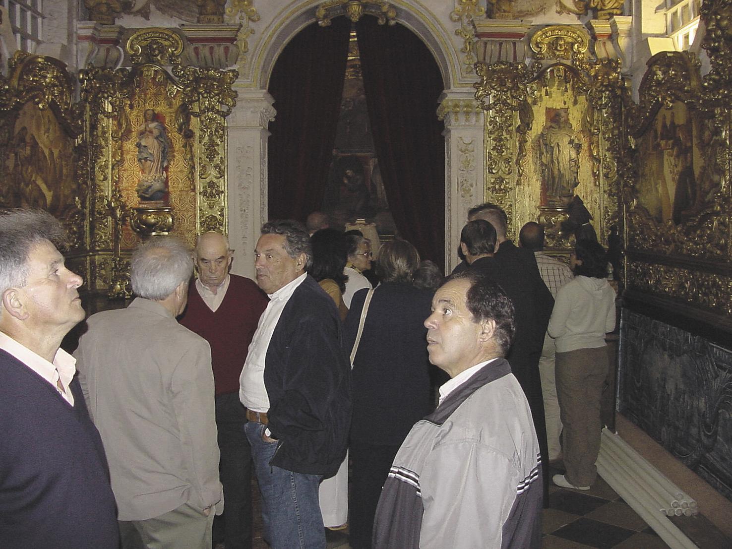 Igreja de Santo António dos Olivais, sacristia, Junho 2002
