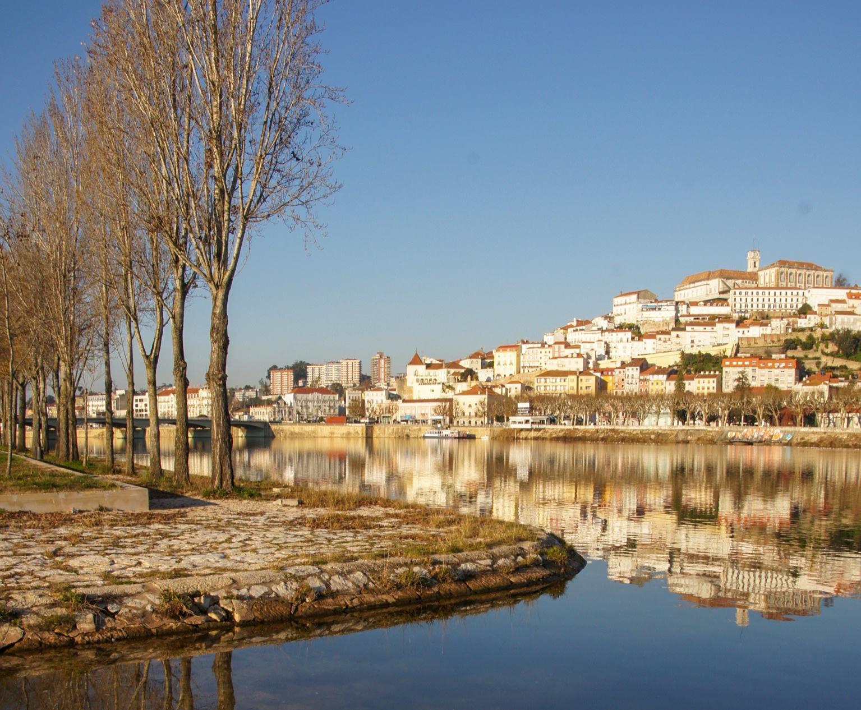 Vista de Coimbra. Foto Xan 2014.