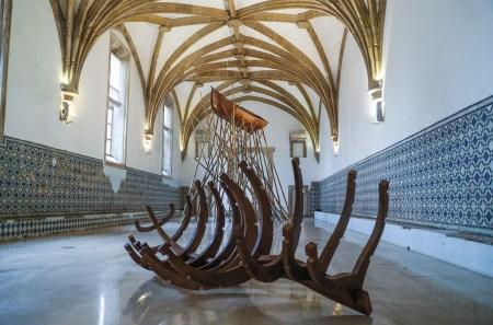 Bienal de Arte Contemporânea de Coimbra Anozero, com obras de 39 artistas que ora irritam, ora podem funcionar como antídoto para um mundo cheio de barulho. Foto: outubro 2019, Paulo Novais / LUSA