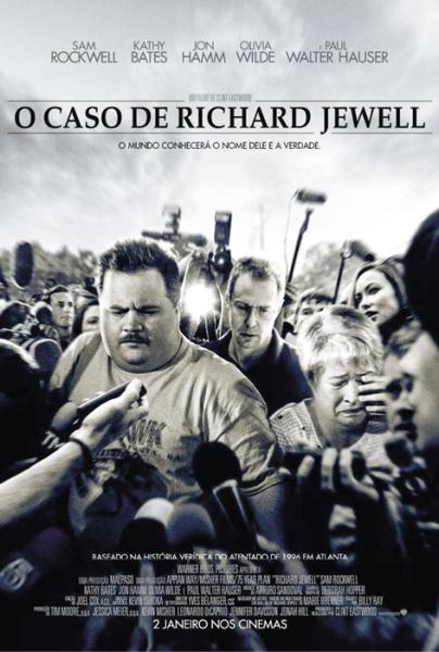 Richard Jewell, de Clint Eastwood, Drama, M/12, EUA, 2019.