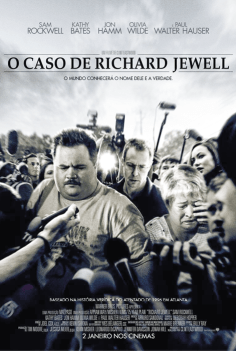 Richard Jewell, de Clint Eastwood, Drama, M/12, EUA, 2019.