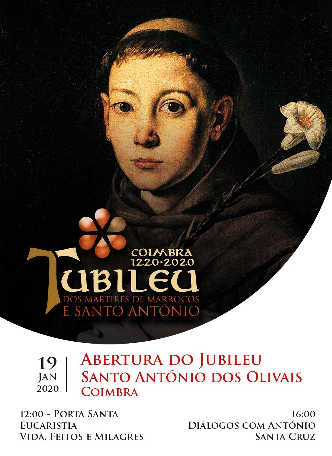 Abertura do Jubileu Santo António dos Olivais Coimbra