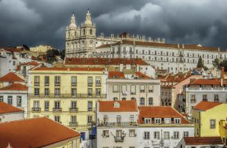 Mosteiro de Sâo Vicente de Fora, Lisboa. Foto: Reino Baptista, Wikimedia Commons.
