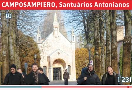 CAMPOSAMPIERO, Santuários Antonianos