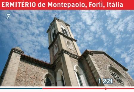 ERMITÉRIO de Montepaolo, Forlì, Itália