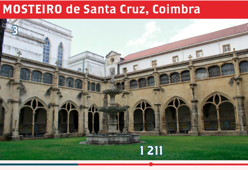 MOSTEIRO de Santa Cruz, Coimbra