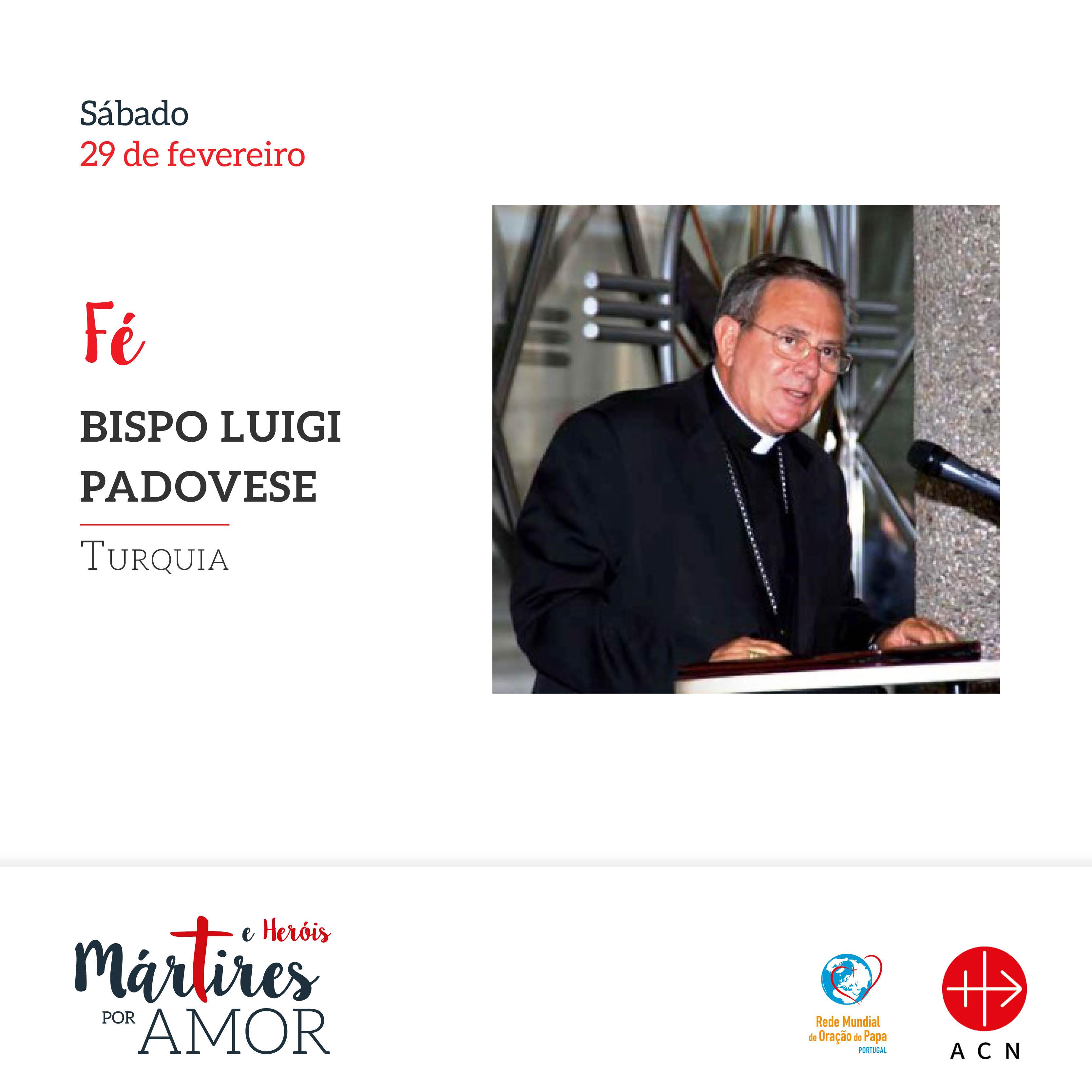 Fé - Turquia: Bispo Luigi Padovese.